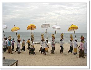 バリのお祭り